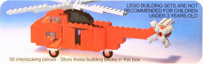 Изображение набора Лего 480 Rescue Helicopter