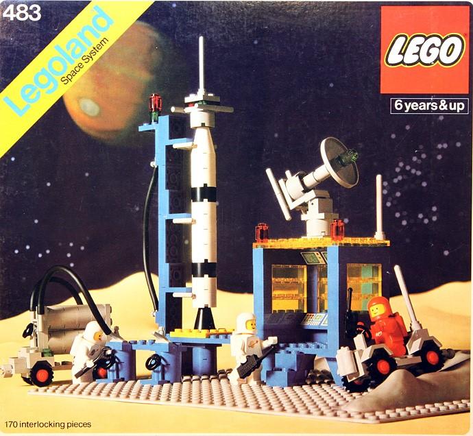 Lego 483 Alpha-1 Rocket Base image
