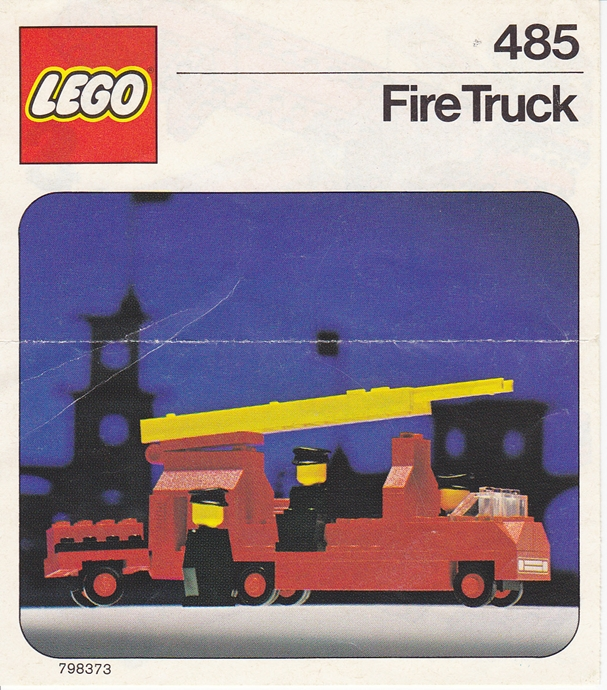 Lego 485 Fire Truck image