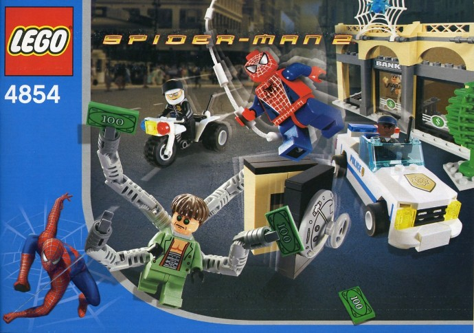 lego junior spiderman hideout instructions