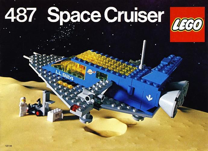 Lego 487 Space Cruiser image