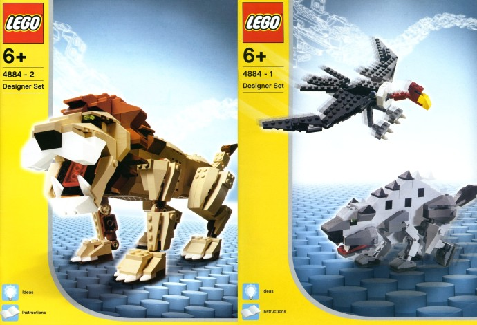 Изображение набора Лего 4884 Wild Hunters