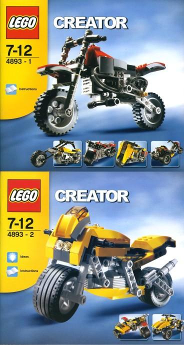 Изображение набора Лего 4893 Revvin' Riders
