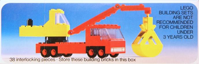 Изображение набора Лего 490 Mobile Crane