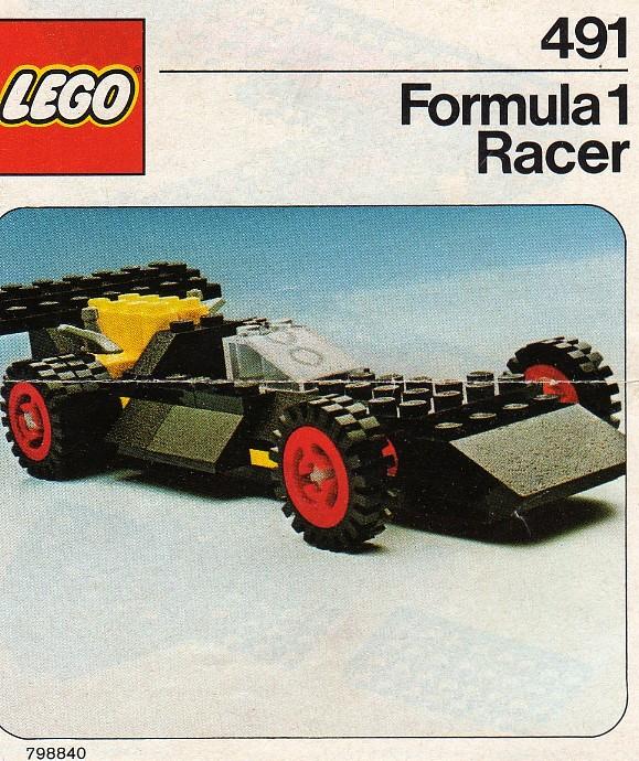 Lego 491 Formula 1 Racer image