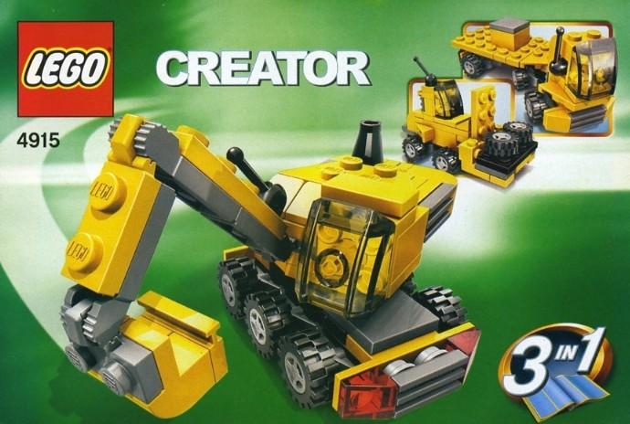 Car Auction Apps >> 4915-1: Mini Construction   Brickset: LEGO set guide and ...