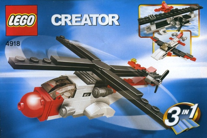 Lego 4918 Mini Flyers image