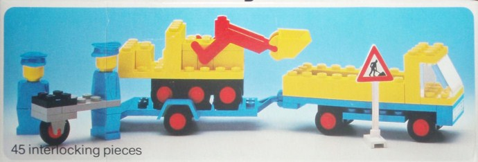 Lego 492 Truck with Payloader image