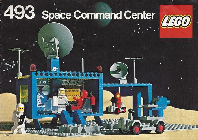 Lego 493 Command Center image
