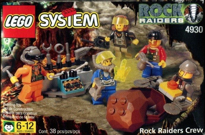 Rock Raiders | Brickset: LEGO set guide and database