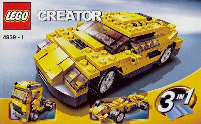 Lego 4939 Cool Cars image
