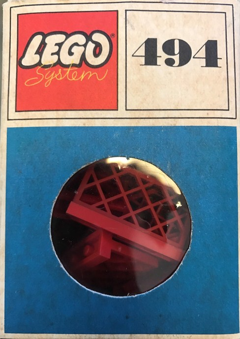 Lego 494 Gates and Fence, Red (System) image