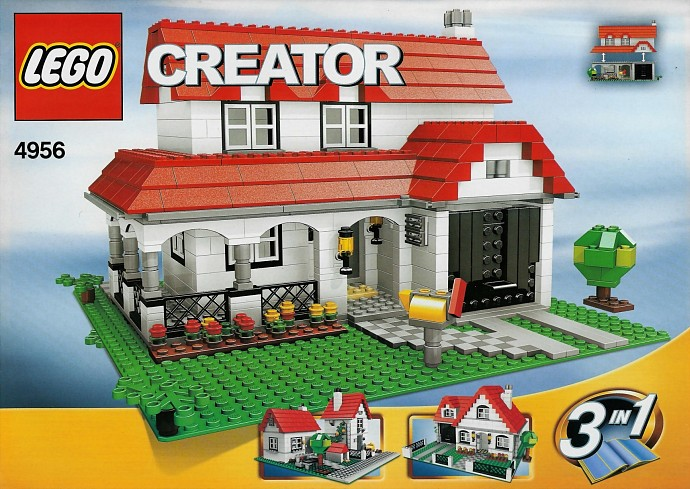4956 1 House Brickset Lego Set Guide And Database