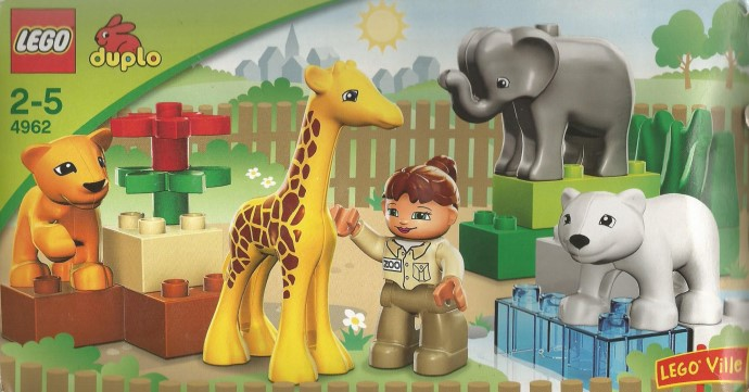 4962 1 Baby Zoo Brickset Lego Set Guide And Database
