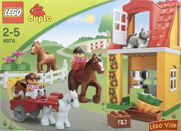 4974 1 Horse Stables Brickset Lego Set Guide And Database