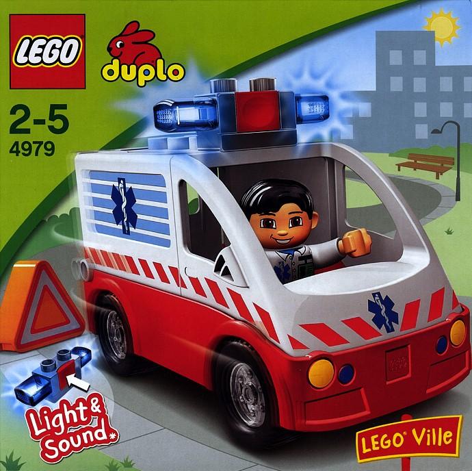 4979 1 Ambulance Brickset Lego Set Guide And Database
