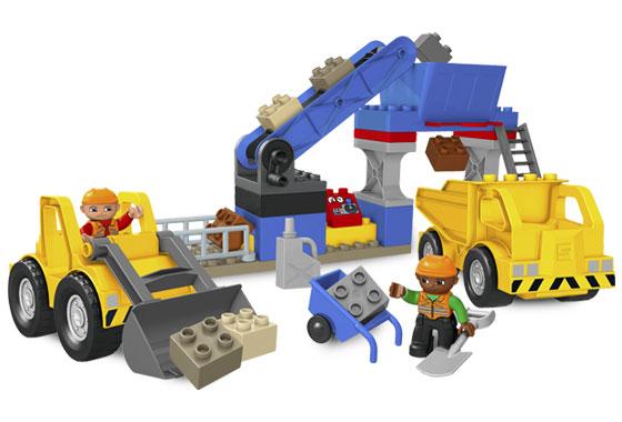 lego duplo quarry instructions
