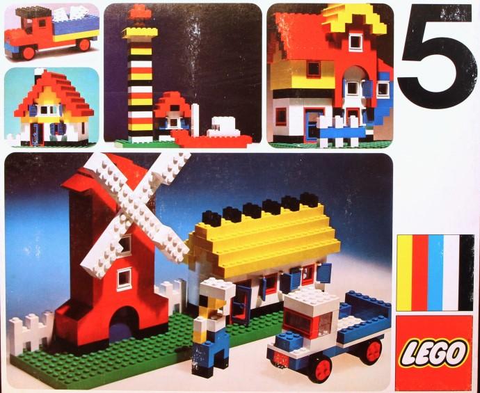 Изображение набора Лего 5 Basic Set