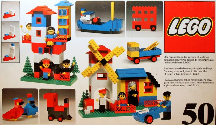 Lego 50 Basic Building Set, 3+ image