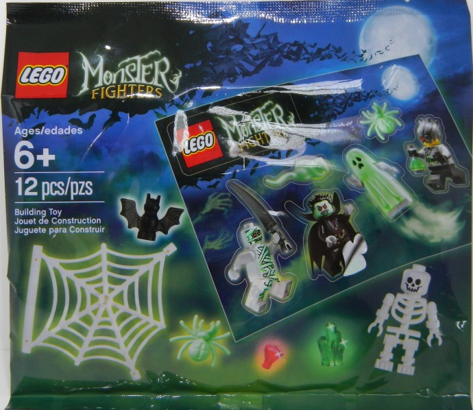 monster fighters promotional pack - Lego Monstre