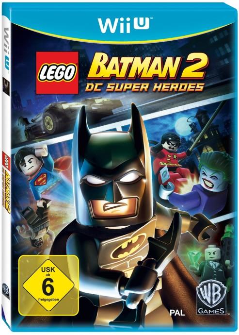 Lego Wii U Games : Lego batman dc universe super heroes wii u video game