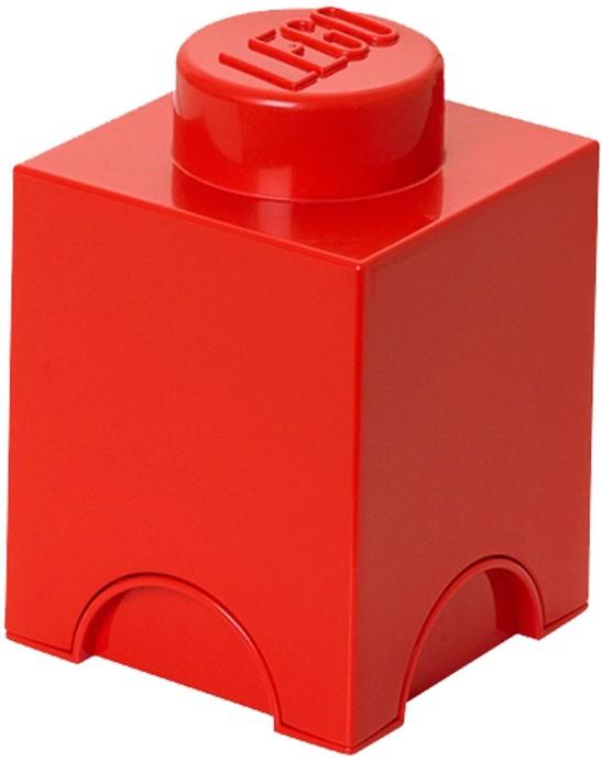 lego 5004267 lego 1 stud red storage brick. Black Bedroom Furniture Sets. Home Design Ideas