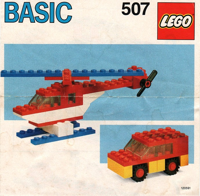Lego 507 Basic Building Set, 5+ image