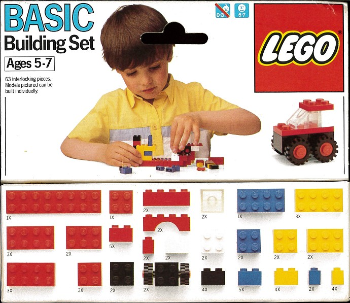 Lego 508 Basic Building Set, 5+ image