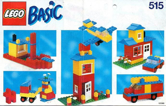 Изображение набора Лего 515 Basic Building Set, 5+