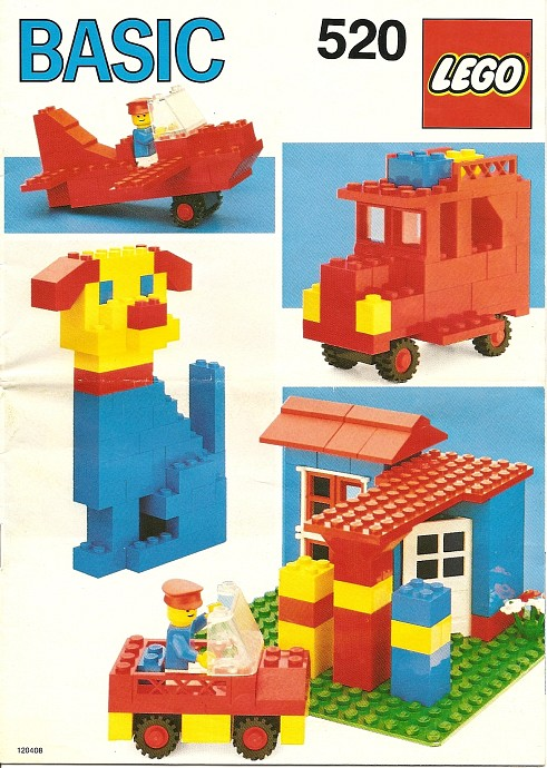 Lego 520 Basic Building Set, 5+ image