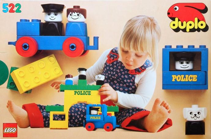 Изображение набора Лего 522 Police Station