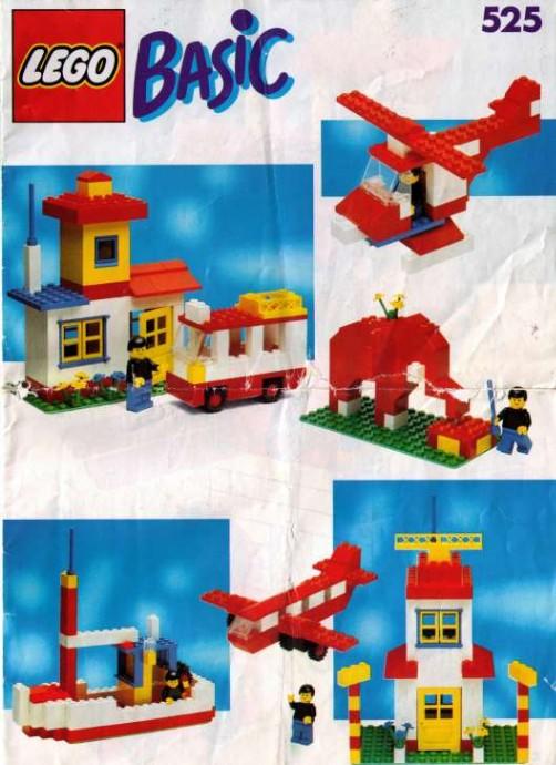 Lego 525 Basic Building Set, 5+ image