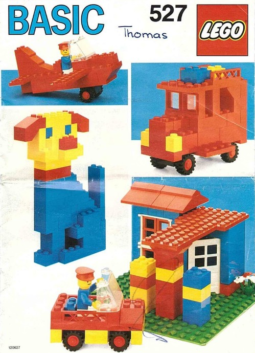 Lego 527 Basic Building Set image
