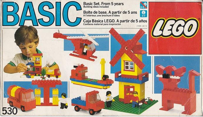 Изображение набора Лего 530 Basic Building Set, 5+