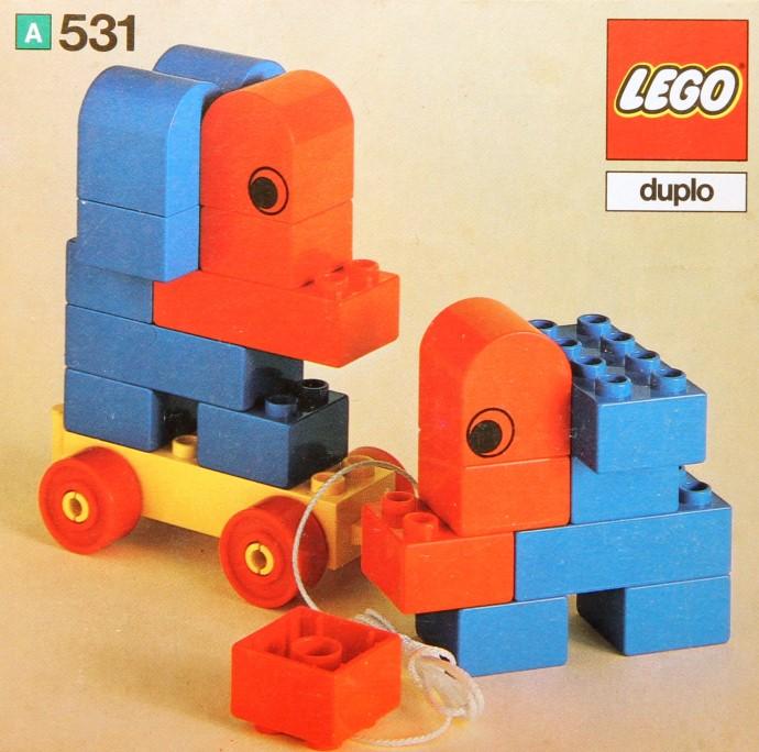 Изображение набора Лего 531 Elephants