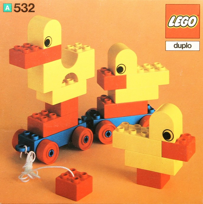 Lego 532 Pull-Along Ducks image