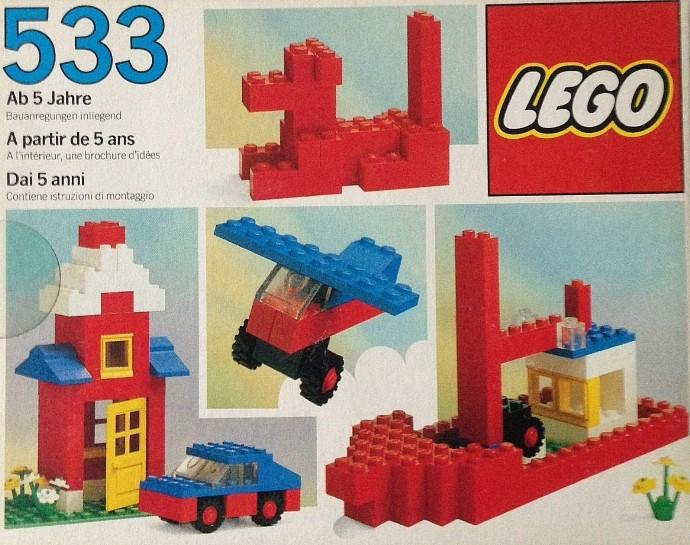 Изображение набора Лего 533 Basic Building Set, 5+