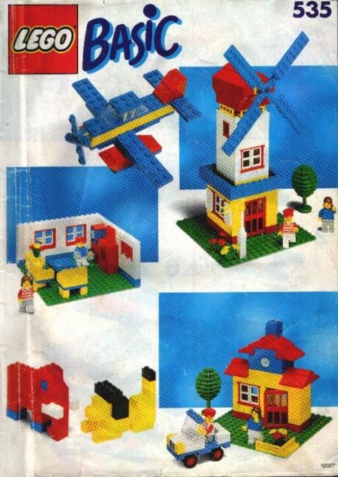 Изображение набора Лего 535 Basic Building Set, 5+