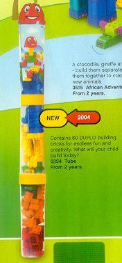 Изображение набора Лего 5354 Tube