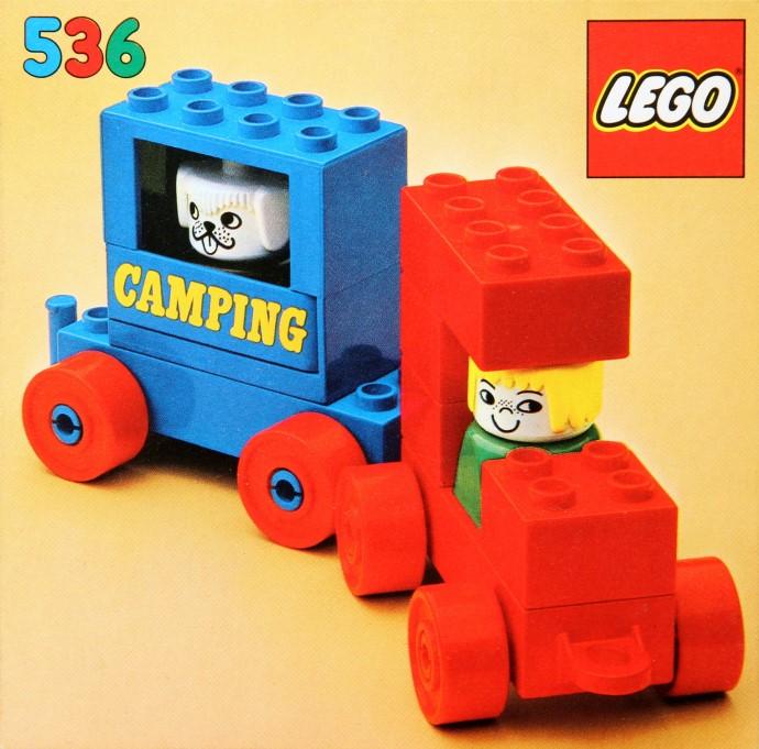 Lego 536 Camping image