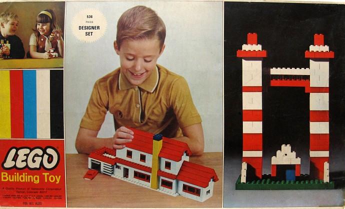 Изображение набора Лего 536 Designer Set