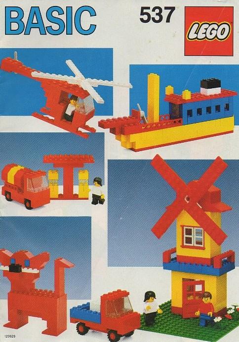 Изображение набора Лего 537 Basic Building Set, 5+
