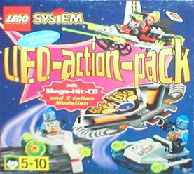Lego 54 UFO Action Pack image