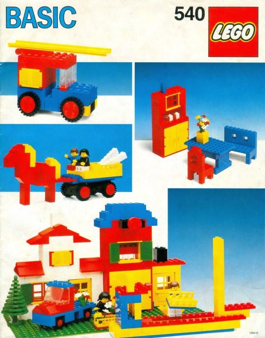 Lego 540 Basic Building Set, 5+ image