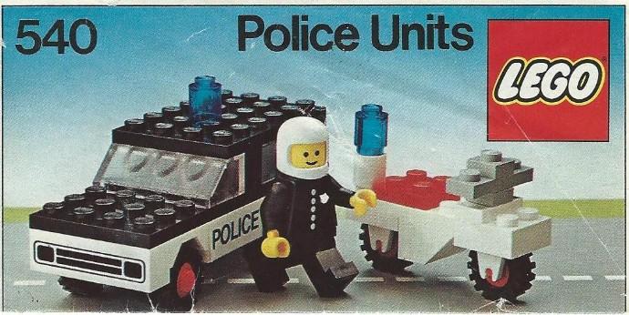 Изображение набора Лего 540 Police Units