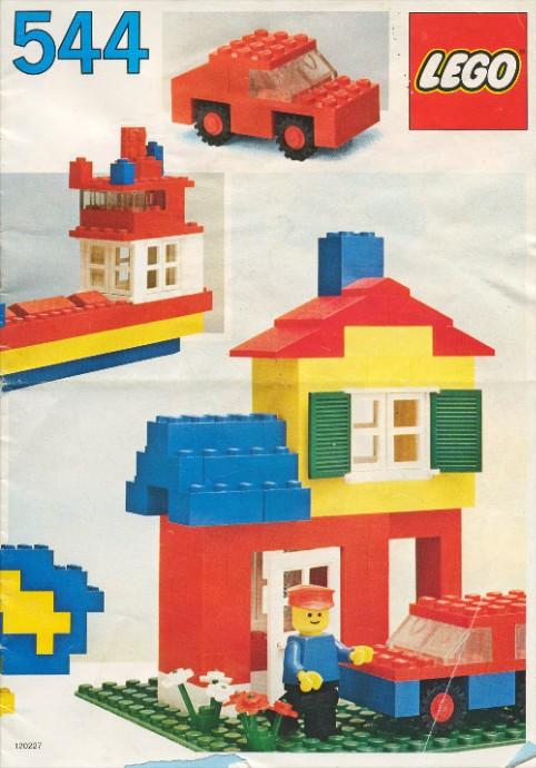 Изображение набора Лего 544 Basic Building Set, 5+