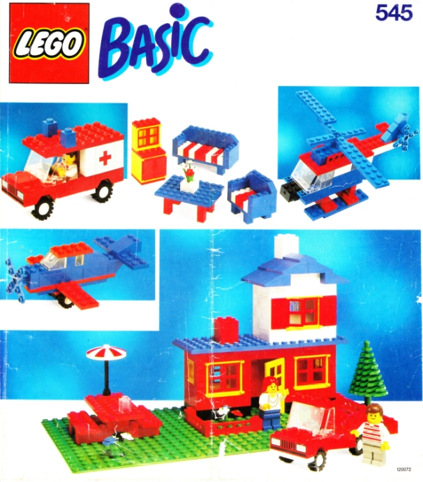 Lego 545 Basic Building Set, 5+ image