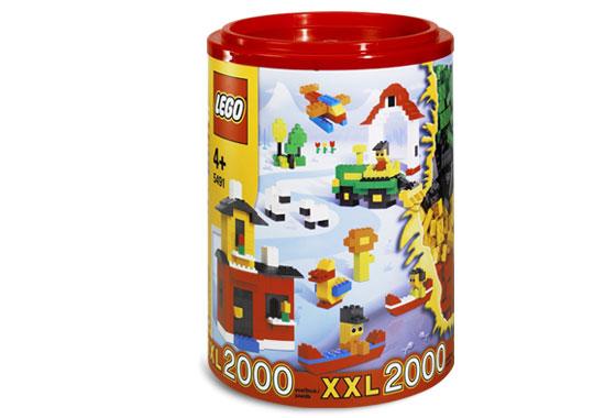 Изображение набора Лего 5491 LEGO XXL 2000 Barrel