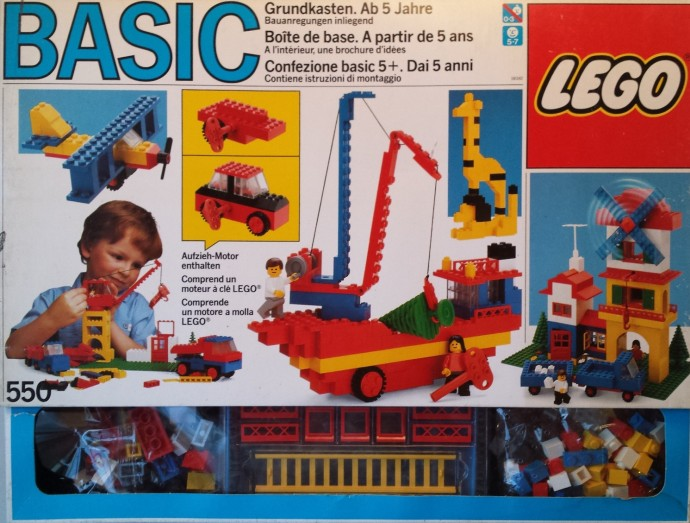 Lego 550 Basic Building Set, 5+ image