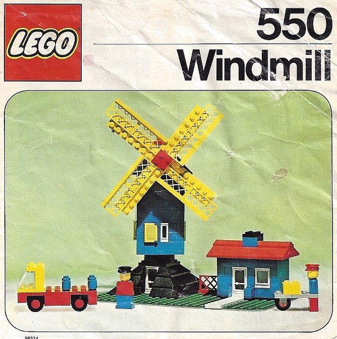 Lego 550 Windmill image